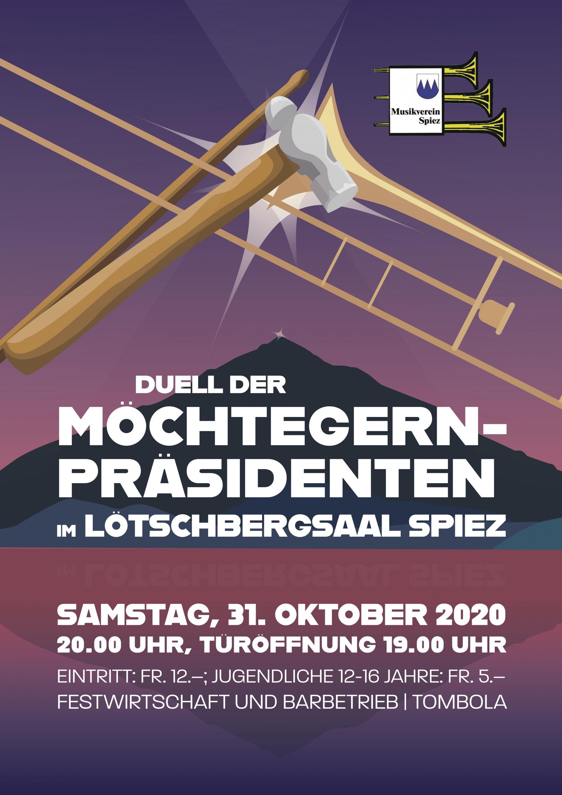 Unterhaltungskonzert vom 31.10.2020